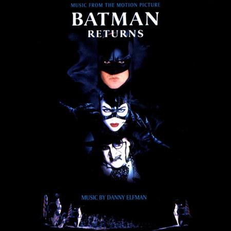 Обложка к альбому - Бэтмен возвращается / Batman Returns (OST)