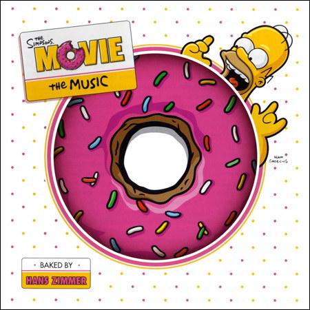 Обложка к альбому - Симпсоны в кино / The Simpsons Movie (OST)