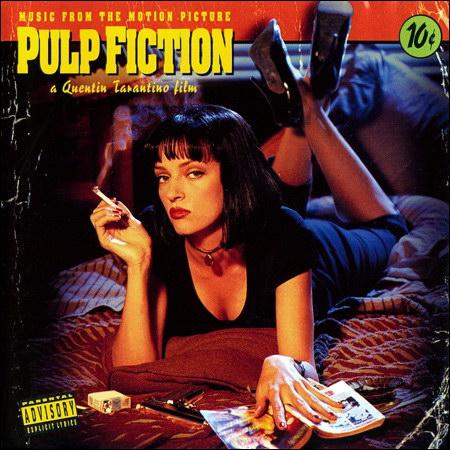 Обложка к альбому - Криминальное чтиво / Pulp Fiction (Vinyl 24/96)