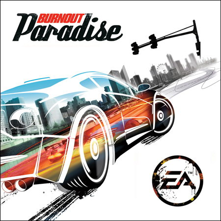 Front cover - Burnout Paradise