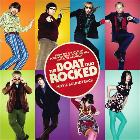 Обложка к альбому - Рок-волна / The Boat That Rocked