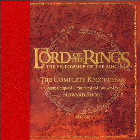 Front cover - Властелин колец: Братство кольца / The Lord Of The Rings: The Fellowship Of The Ring (The Complete Recordings)