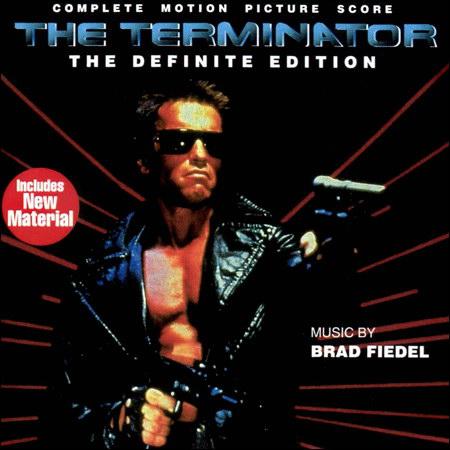Front cover - Терминатор / The Terminator (Complete Score: The Definite Edition)