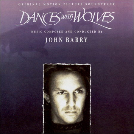 Front cover - Танцующий с волками / Dances with Wolves (Original Score)