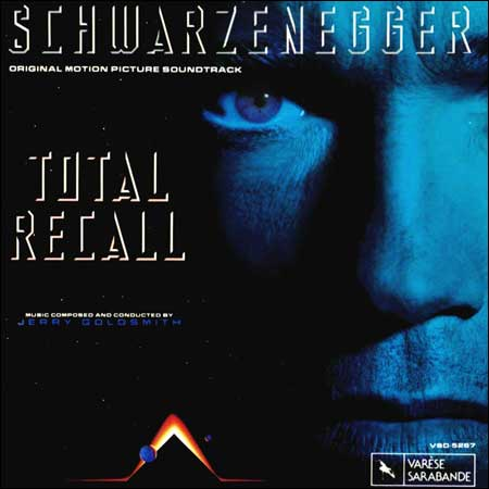 Front cover - Вспомнить всё / Total Recall (OST by Jerry Goldsmith)