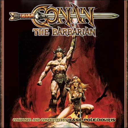 Front cover - Конан-варвар / Conan The Barbarian (30th Anniversary Edition)