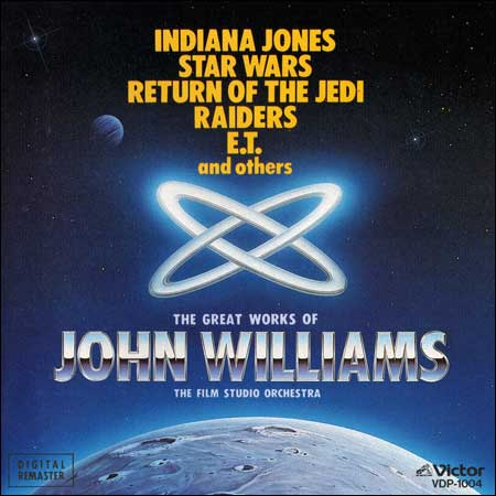 Front cover - The Greatest Works of John Williams