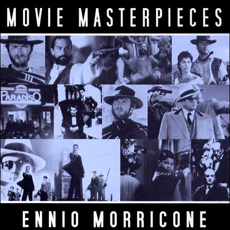 Front cover - Ennio Morricone - Movie Masterpieces