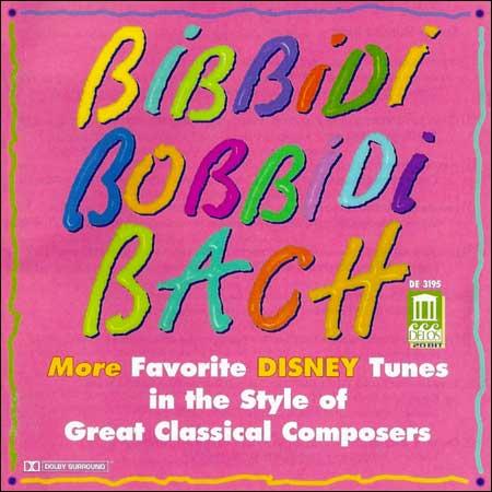 Обложка к альбому - Bibbidi Bobbidi Bach