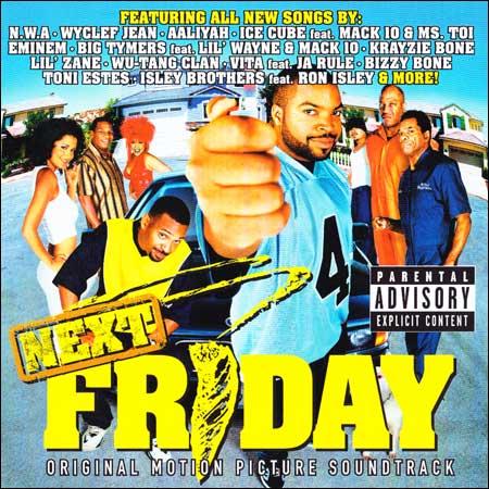 Обложка к альбому - Следующая пятница / Next Friday