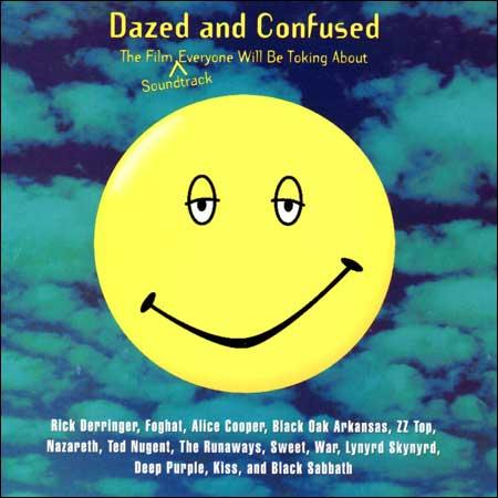 Обложка к альбому - Под кайфом и в смятении / Dazed and Confused