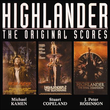 Обложка к альбому - Горец / Highlander - The Original Scores