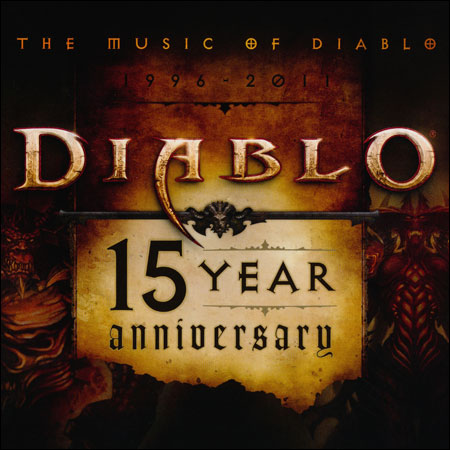 Обложка к альбому - The Music of Diablo 1996-2011: Diablo 15 Year Anniversary