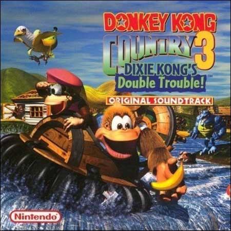 Обложка к альбому - Donkey Kong Country 3: Dixie Kong's Double Trouble!