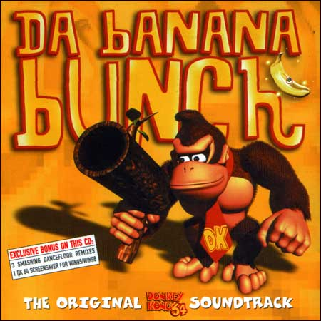 Обложка к альбому - Da Banana Bunch: The Original Donkey Kong 64 Soundtrack