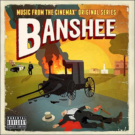 Обложка к альбому - Банши / Banshee (Seasons 1-2)