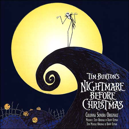 Обложка к альбому - Кошмар перед Рождеством / The Nightmare Before Christmas (Italian Version)