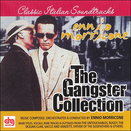 Front cover - Ennio Morricone - The Gangster Collection