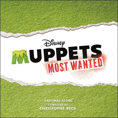 Обложка к альбому - Маппеты 2 / Muppets Most Wanted (Score)