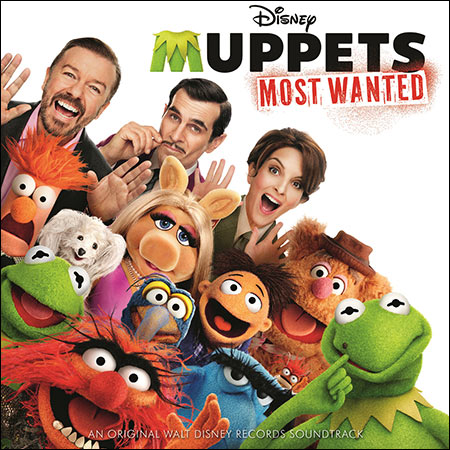 Обложка к альбому - Маппеты 2 / Muppets Most Wanted (OST)