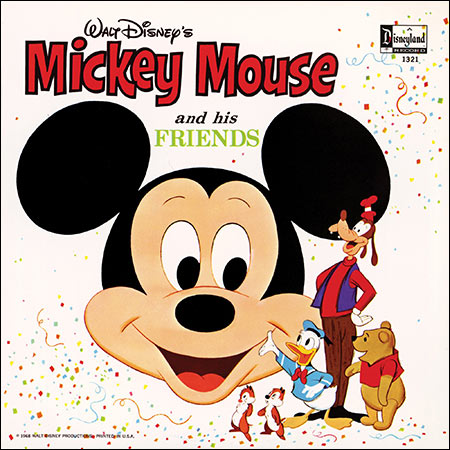 Обложка к альбому - Mickey Mouse and his Friends