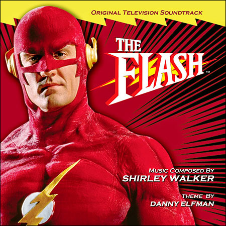 Обложка к альбому - Флэш / The Flash (by Shirley Walker)