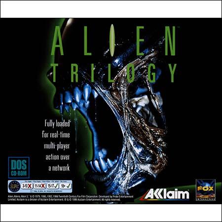 Обложка к альбому - Alien Trilogy