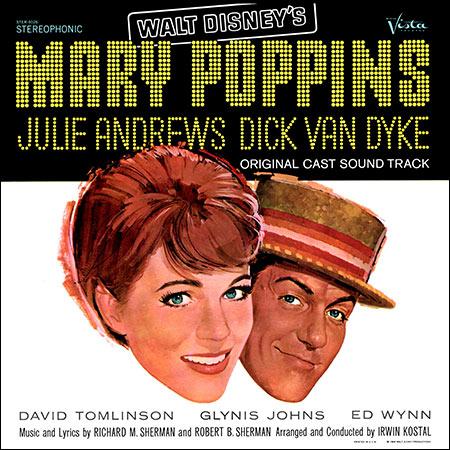 Обложка к альбому - Мэри Поппинс / Mary Poppins (Stereo Vinyl Rip)