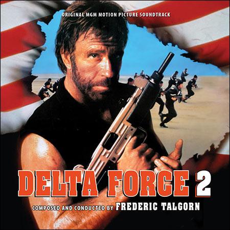 Дополнительная обложка к альбому - Отряд «Дельта» 2 / Delta Force 2: Operation Stranglehold (Intrada Edition)