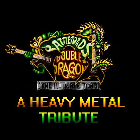 Обложка к альбому - Battletoads & Double Dragon: A Heavy Metal Tribute