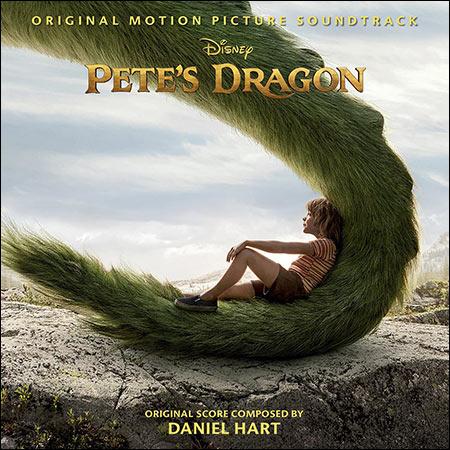 Обложка к альбому - Пит и его дракон / Pete's Dragon (2016)