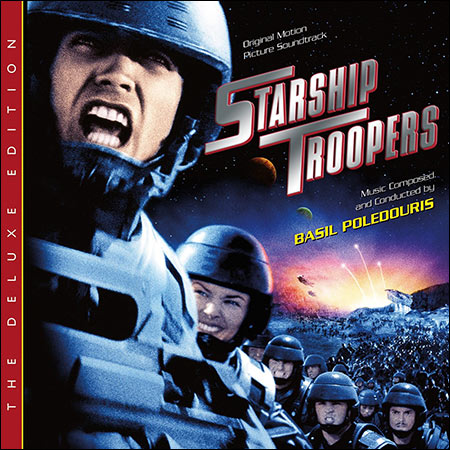 Front cover - Звездный десант / Starship Troopers (The Deluxe Edition)
