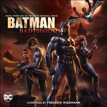 Дополнительная обложка к альбому - Бэтмен: Дурная кровь / Batman: Bad Blood