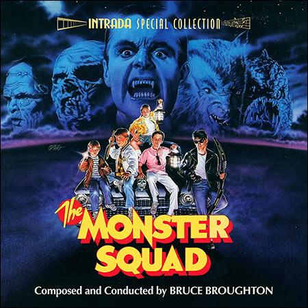 Обложка к альбому - Взвод монстров / The Monster Squad (Intrada Edition)