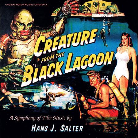 Обложка к альбому - Создание из чёрной лагуны / Creature from the Black Lagoon