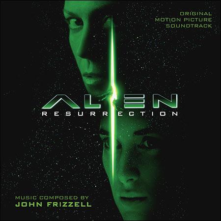 Обложка к альбому - Чужой 4: Воскрешение / Alien: Resurrection (La-La Land Records)