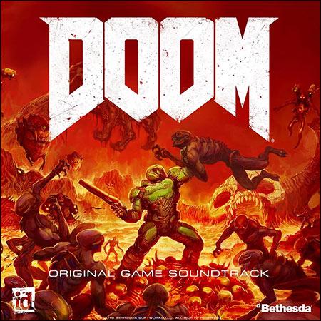 Обложка к альбому - DOOM (2016) (Original Game Soundtrack)