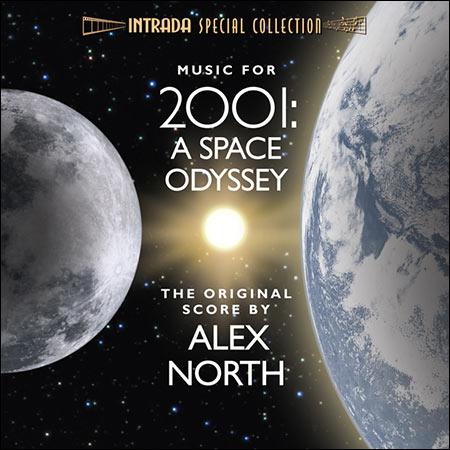 Обложка к альбому - Космическая одиссея 2001 года / 2001: A Space Odyssey (Unused Score)