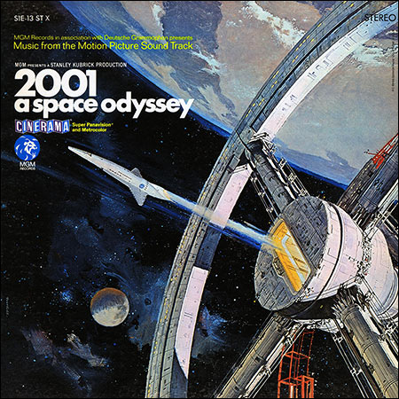Обложка к альбому - Космическая одиссея 2001 года / 2001: A Space Odyssey (MGM Records - S1E-13 ST X)