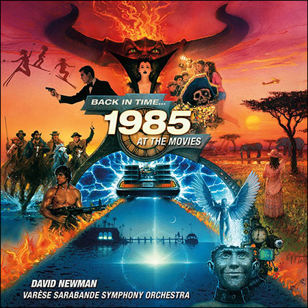 Обложка к альбому - Back in Time...1985 At the Movies