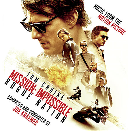 Front cover - Миссия невыполнима: Племя изгоев / Mission: Impossible - Rogue Nation