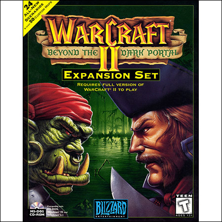 Обложка к альбому - Warcraft II: Beyond the Dark Portal