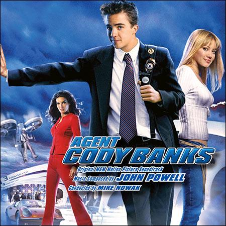 Обложка к альбому - Агент Коди Бэнкс / Agent Cody Banks (Intrada Edition)
