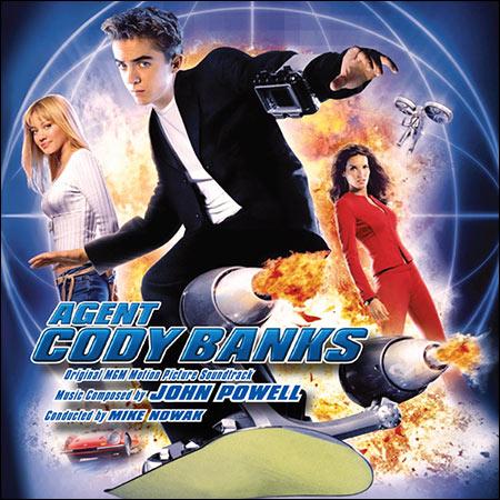 Дополнительная обложка к альбому - Агент Коди Бэнкс / Agent Cody Banks (Intrada Edition)