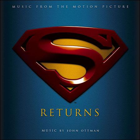 Обложка к альбому - Возвращение Супермена / Superman Returns (Original Score)