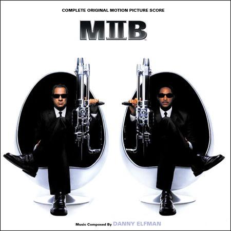 Обложка к альбому - Люди в черном 2 / MIIB / Men in Black II (Complete Score)