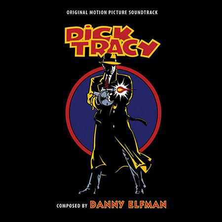 Дополнительная обложка к альбому - Дик Трэйси / Dick Tracy (Intrada Edition)