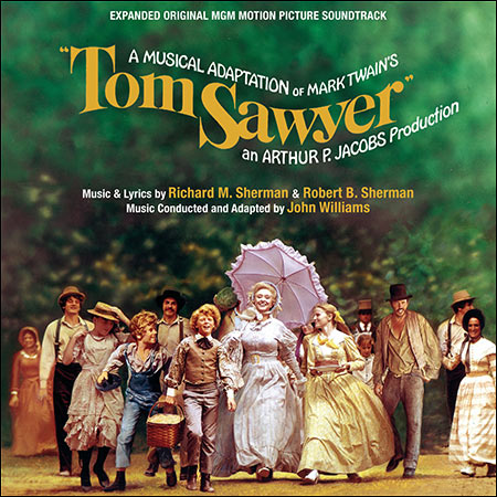 Обложка к альбому - Том Сойер / Tom Sawyer (Quartet Records Edition)