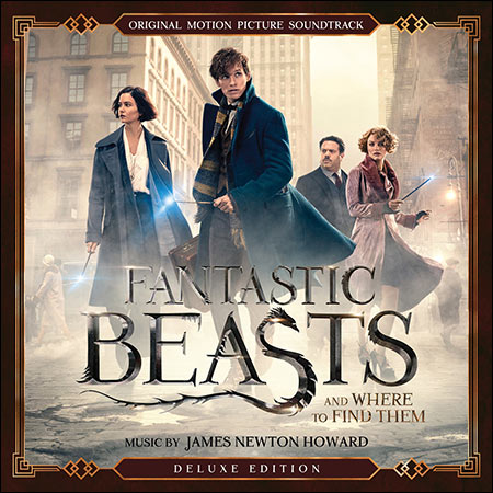 Обложка к альбому - Фантастические твари и где они обитают / Fantastic Beasts and Where to Find Them (Deluxe Edition)