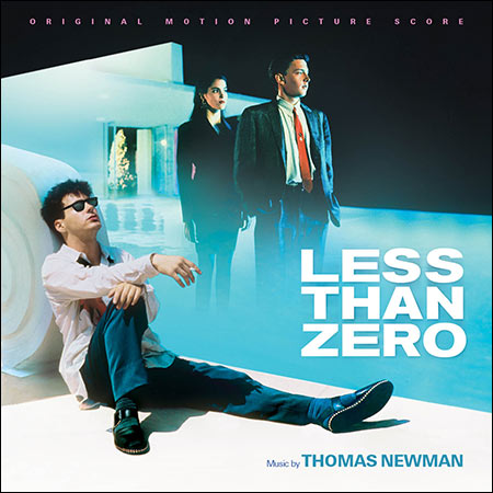 Обложка к альбому - Меньше нуля / Less Than Zero (La-La Land Records Edition)